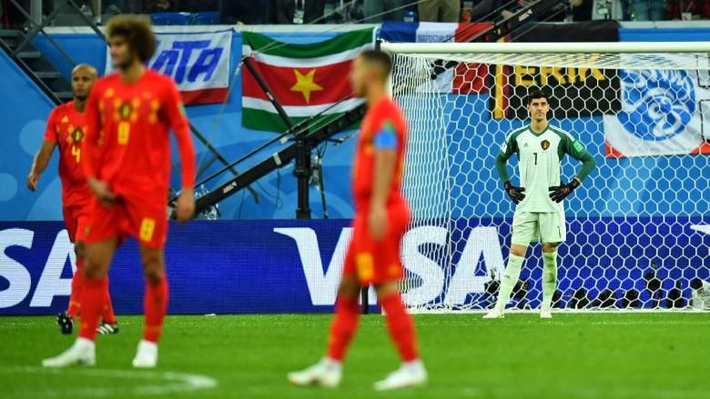Belgia Harus Kubur Mimpi Juara Piala Dunia 2018